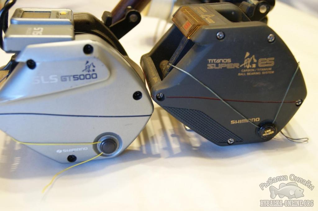 мультипликаторная shimano titanos gt-3000