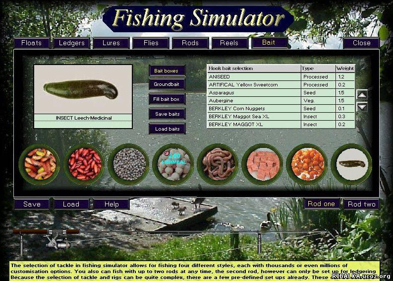 симулятор рыбалки rus