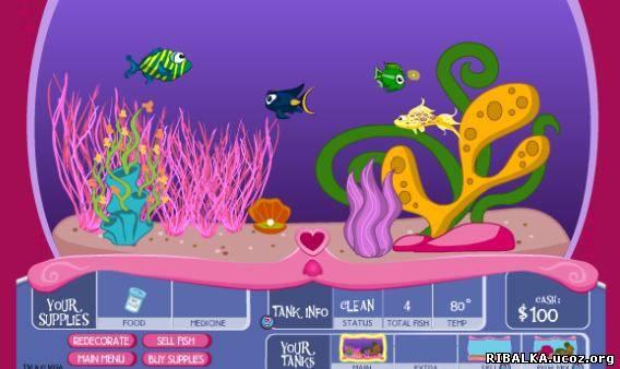 Игра аквариум онлайн
