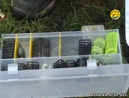Ловля рыбы фидером видео смотреть онлайн