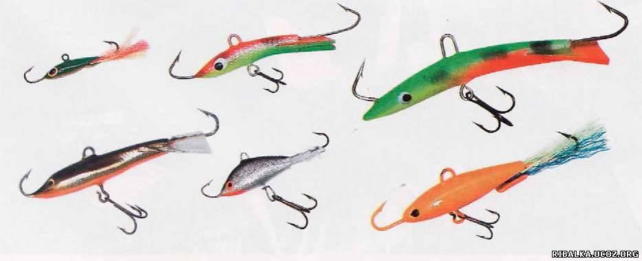 балансиры для зимней рыбалки